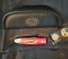 1957 Chrysler Official Franklin Mint Collectors Pocket Knife w Case and Tags