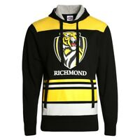 Richmond Tigers 2018 AFL Mens Supporter Hood / Hoody Sizes S-5XL