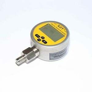 Hydraulic Digital Pressure Gauge-80mm-700BAR/10000PSI(BSP1/4) -Base Entry