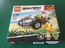 LEGO Angry Birds 75821 Piggy Car Escape, Brand New and Still Sealed (incs Chuck)