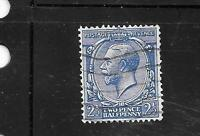 GREAT BRITAIN GB UK SC #191 1924 OLD VINTAGE 2 1/2p GEORGE V DEFINITIVE STAMP