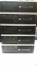 Cheap Job Lot 5 x HP 8000 Core 2 Duo 2.93 2GB 160GB PC Desktop