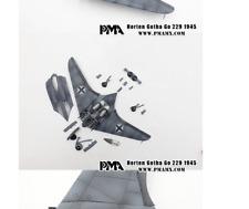 PMA Models 1:72 P0501-HORTEN GOTHA GO 229 1945 WWII Luftwaffe TOP !!!