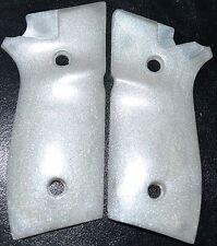 Taurus PT945 pistol grips pearl white plastic