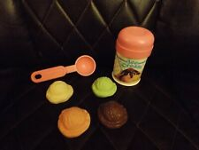 Fisher Price Fun with Play Food Ice Cream with Pink Ice Cream Scooper Vintage
