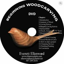 Beginning Woodcarving DVD - Sold Directly by Ev Ellenwood (Woodcarver & Author)