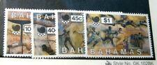 Bahamas Stamp Scott# 651-654 Summer Olympics 1988 H50