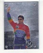 1996 M-Force Promo Card # 3 Silver - Jeff Gordon