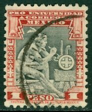EDW1949SELL : MEXICO 1934 Scott #704 Very Fine, Used. Nice stamp Catalog $175.00