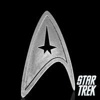 Star Trek Logo Metal Pin brooch Silver color Collectible gift decor cosplay
