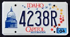 "IDAHO "" CAPITOL RESTORATION - BIRD - STARS "" ID Specialty License Plate"