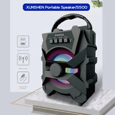 Tragbarer Bluetooth 5.0 Lautsprecher Soundstation Musikbox Radio MP3 SD USB DE