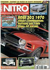 NITRO n°183 MUSTANG BOSS 302 '70/CHRYSLER IMPERIAL'54/BUICK GS 455 '71 +poster