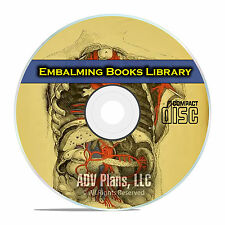 The Library of Embalming, History and Practice, Post-Mortem Autopsy Terms CD E42