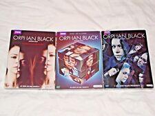 Orphan Black Seasons 1-3, 1 2 3, One Two Three, DVD, BBC America, New & Sealed!