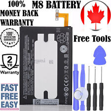 Brand New Replacement Battery for HTC ONE M8 2600 mAh With Repair Tools