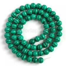 Grün Malachit Rund Edelstein Perlen Strang Perle 15.5Inch 6mm