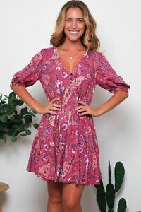 Lorelei 1/2 Sleeve Mini Dress