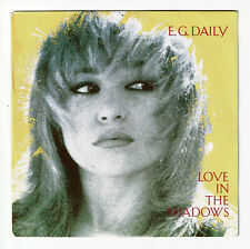 """E.G. DAILY Vinyle 45 tours SP 7"""" LOVE IN THE SHADOWS - AM RECORDS 390 078 Stereo"""