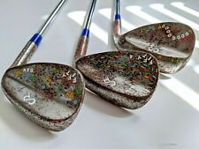 Custom Forged Wedge Set by Corey Paul