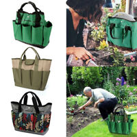 Oxford Garden Tool Bag Gardening Tool Storage Holder Organizer Tote Lawn Yard