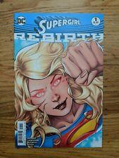 SUPERGIRL REBIRTH 1 DC COMICS LUPACCHINO VARIANT COVER HIGH GRADE NM