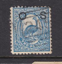 N.S.W. : 2 d Blue Deep Shade Emu Sg O40a Perf 12 Fine Used
