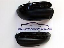 SCHWARZE Seitenblinker/Spiegelblinker VW Golf 6 Mk6 GTI R Cabrio Touran Umfeld