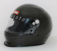 RaceQuip Pro-15 Auto Racing Helmet Xx-Large Carbon Graphic Sa2015 New