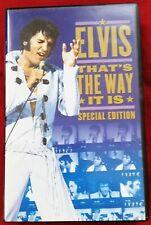 """VHS Elvis Presley """"Elvis: That's The Way It Is"""""""