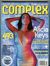 Complex Magazine October 2007 Alicia Keys EX 051316jhe