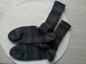 Wollsocken Handgestrickt 42/43