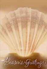 Shell on Sand 16 Boxed Christmas Cards by Image Arts