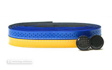 NOS Stella Azzurra ELEGANZA Handlebar Bartape Bar Grip Tape : YELLOW/BLUE
