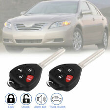2 for Toyota Camry 2007 2008 2009 2010 Remote Keyless Entry Car Key For hyq12bby