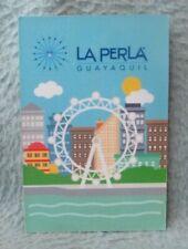 New listing La Perla Guayaquil Ecuador Thin Magnet Souvenir Refrigerator Travel
