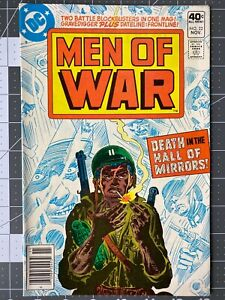 DC Comics MEN OF WAR #22 VF1979 Newsstand Edition