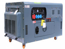 GROUPE ELECTROGENE DIESEL 12 KVA BI-CYLINDRE EN V 836CC 380V + 230V + 12V