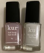 Kur Londontown Soft Touch Nail Scrub & Sleep Mask 0.4 oz Free Shipping