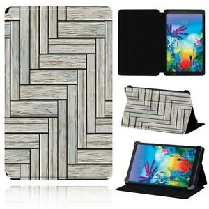 """Leather Flip Smart Stand Case cover For LG G Pad 8.3"""" V500 /G Pad 5 10.1 FHD+Pen"""