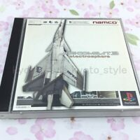 USED PS1 PS PlayStation 1 Ace Combat 3 10642 JAPAN IMPORT