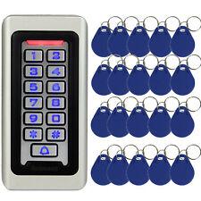 Retekess LED Keypad RFID Access Control System Proximity Card Hotel Shop+20*Card