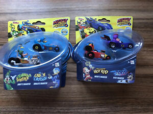 Disney Mickey and the Roadster Racers Double Pack X 2 Rare Toy NEW