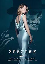007 SPECTRE MANIFESTO JAMES BOND IAN FLEMING CRAIG LEA SEYDOUX MADELEINE SWANN