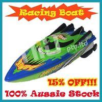 Green Radio Control Remote Control Racing Boat Ship Radio High Speed RC Boat