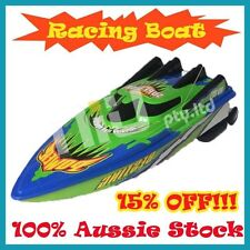 Green Radio Control Remote Control Racing Boat Ship Radio High Speed RC Boat