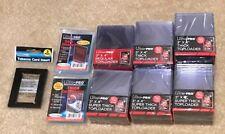 6x UltraPro Toploader Regular/55/100/120/130/180pt & Sleeves Tobacco Card Insert