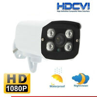 3.6mm 1080P Wide Angle Dome IR-CUT Indoor/Outdoor Dome CCTV Security Camera US
