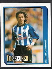 Merlin Football Sticker - 2000 Premier League No 363 - Sheff Wed - Carbone