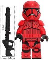 Sith Stormtrooper Star Wars Jet Custom Lego Mini Figure Jedi Force Soldier Rises